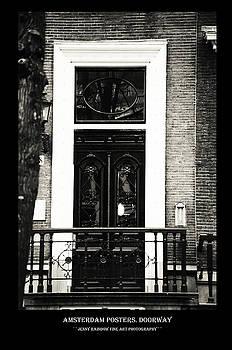 Amsterdam Posters. Doorway by Jenny Rainbow