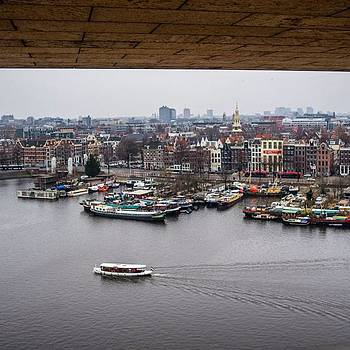Amsterdam Skyline by Aleck Cartwright