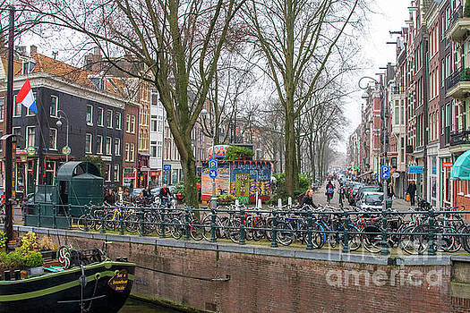 Amsterdam with bikes by Patricia Hofmeester