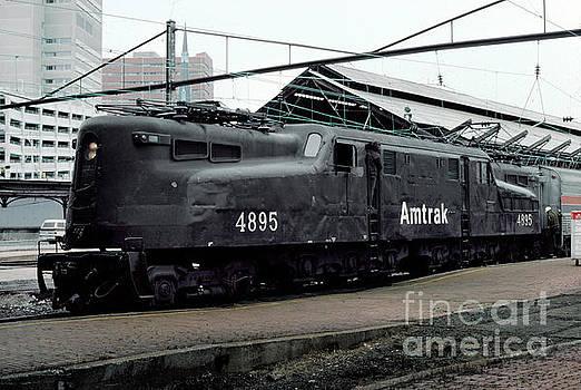 Amtrak AMTK 4895 GG-1, Altoona GG1 by Wernher Krutein