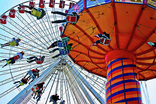 Amusement Parks I by Dawn Wayand