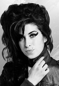 Amy Winehouse 23 by Brian Tones