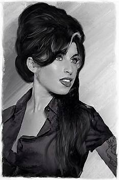 Amy Winehouse 24 by Brian Tones