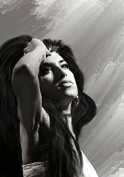 Amy Winehouse 25 by Brian Tones