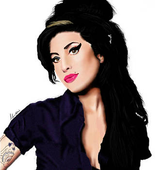 Amy Winehouse by Alicia Mullins