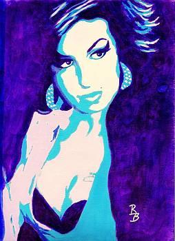 Amy Winehouse by Bob Baker