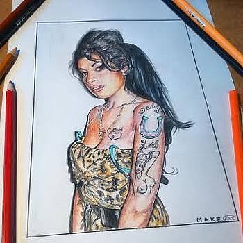 Amy Winehouse by Ivana Marincic