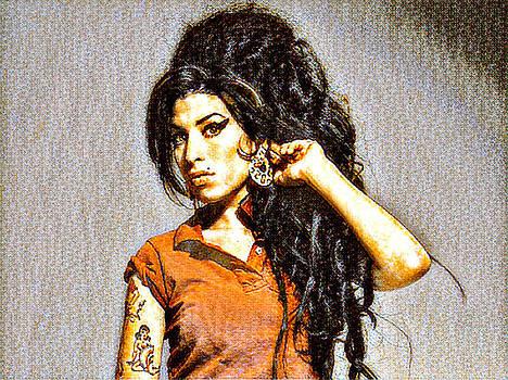 Amy Winehouse by Oscar George