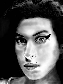 Amy Winehouse by Penny Ovenden