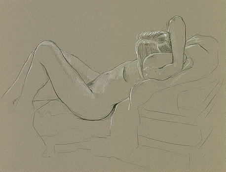 Amy with crossed arms by Bob Cook
