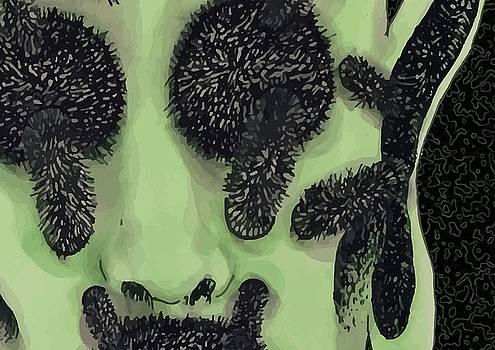 An Alien  by Paula Sharlea