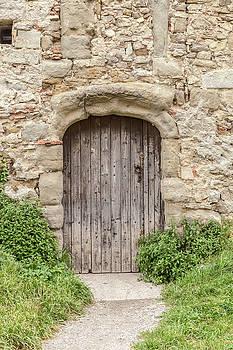 W Chris Fooshee - An Ancient Door in Carcassonne