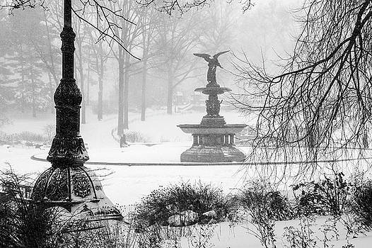 An Angel in Winter by Cornelis Verwaal