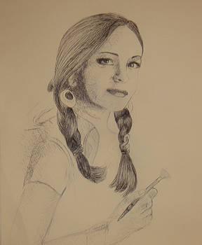 An Artist by Reza Naqvi