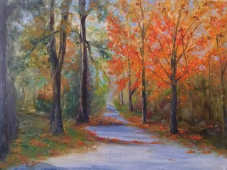 An Autumn Drive by Anne Barberi