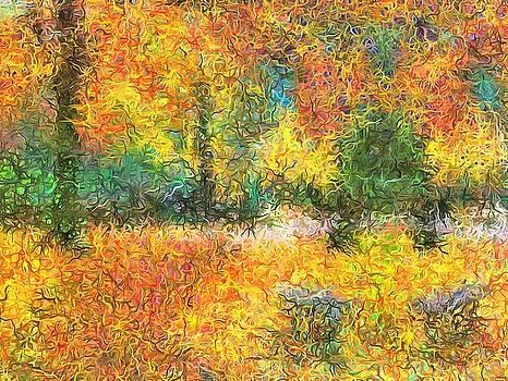 An Autumn in the Park by Mario Carini