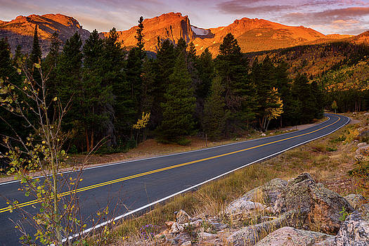 John De Bord - An Autumn Morning Along Bear Lake Road