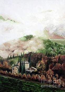 Derek Rutt - An Autumn Morning In Tuscany