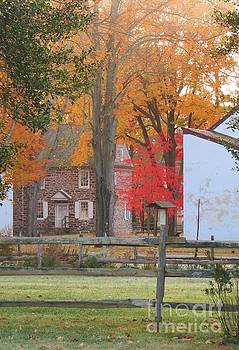 An Autumn View of McConkey's Tavern by Anne Ditmars