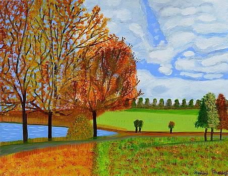 An Autumn Walk by Magdalena Frohnsdorff