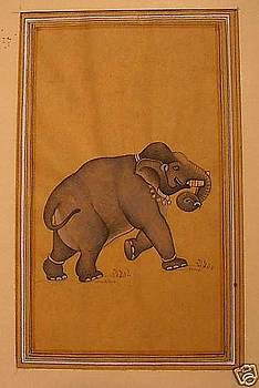 An elephant by Unknown