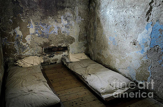 RicardMN Photography - An empty cell in Cork City Gaol