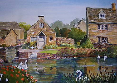 An English Village by Richard Powell