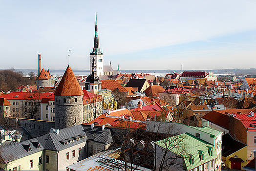 An Estonian Cityscape by Timothy Model