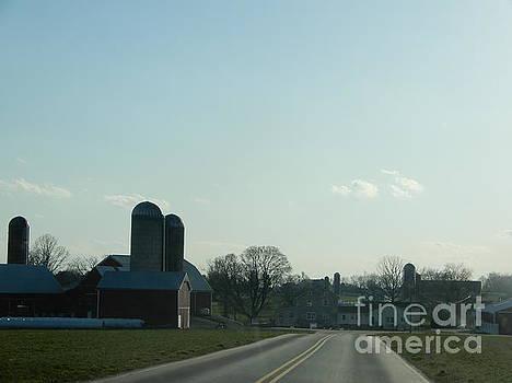 Christine Clark - An Evening Amish Vista