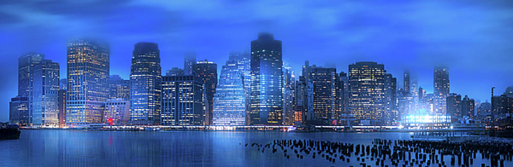 An Evening in Manhattan by Mark Andrew Thomas