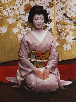 An Evening in the Gion by Phil Couture