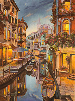 Charlotte Blanchard - An Evening in Venice