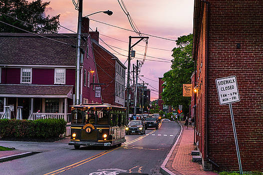 An Evening on Marcy Street by Devin LaBrie
