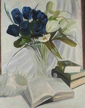 An incomplete Still Life by Emrazina Prithwa