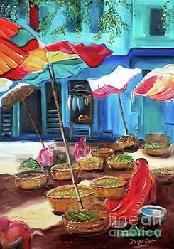 Derek Rutt - An Indian Market