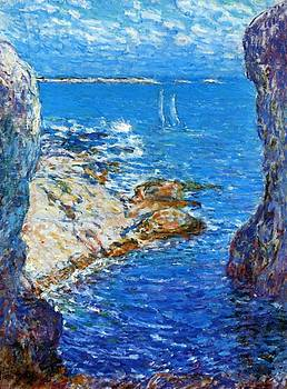 An Isles Of Shoals Day by Hassam Childe
