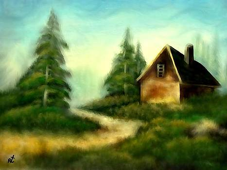 An old cabin in the wild by Rafi Talby