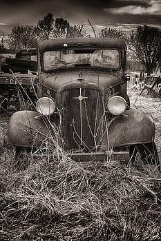 An Old Chevy truck by Dick Pratt