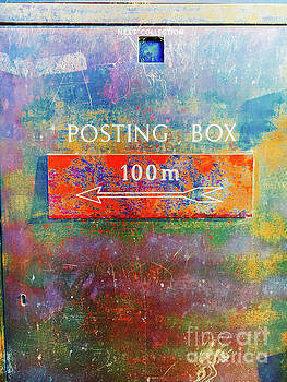An old postbox by Tom Gowanlock