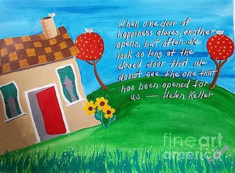 An Open Door for Happiness by Karleen Kareem
