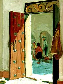 An open door by Zois Shuttie