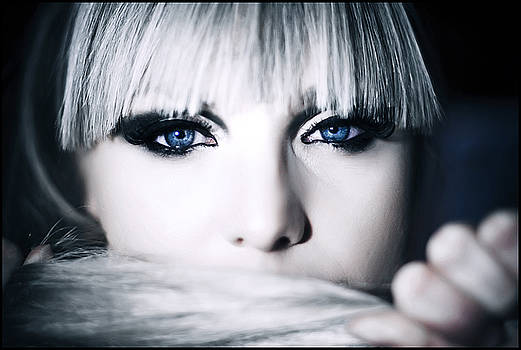 Ana Blue Eyes by Tina Zaknic - Xignich Photography
