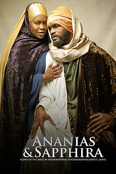 Ananias and Sapphira by Icons Of The Bible
