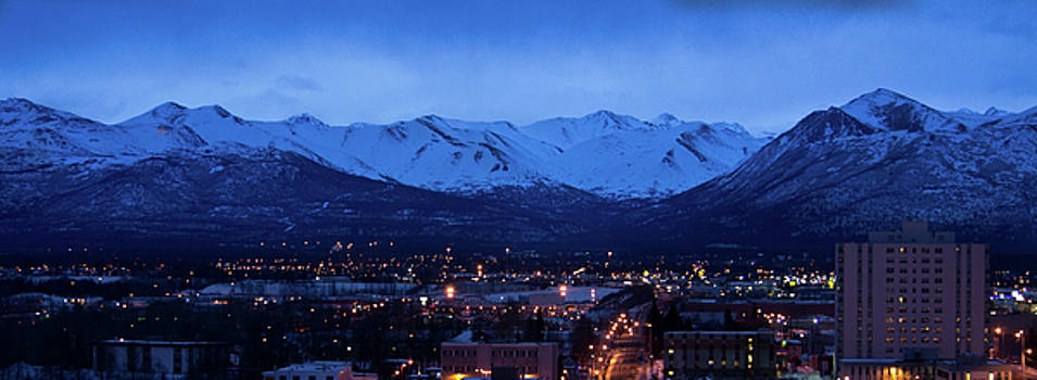 Mike Shaw - Anchorage at Sunrise