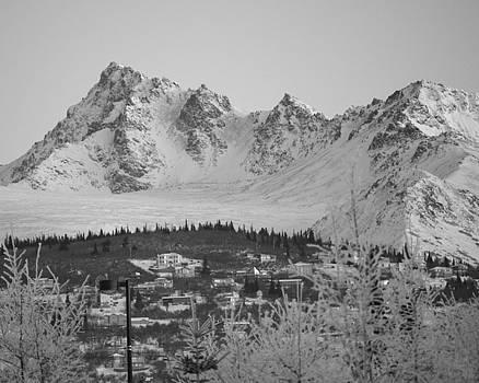 Anchorage Hillside by Jeannette Reddington
