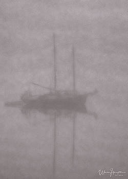 Anchored In Fog #1 by Wally Hampton
