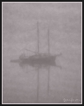 Anchored In Fog #2 by Wally Hampton