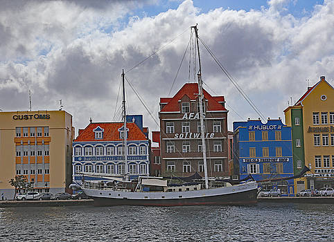 Allan Levin - Anchored in Willemstad,Curacao