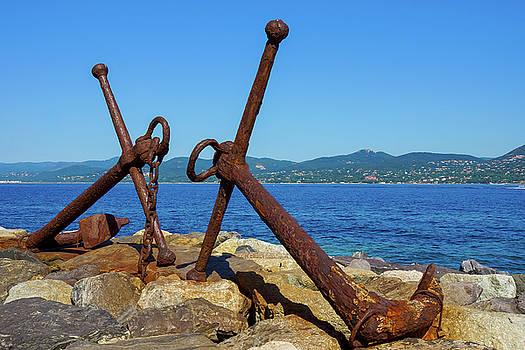 Anchors Saint Tropez by Elly De vries