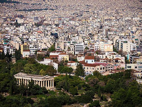 Ancient Agora of Athens by Rae Tucker